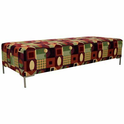 Home & Garden Indian Bench Love Seat Long Ottoman Bench Two Seat Handmade Rug Upholstery Benches & Stools