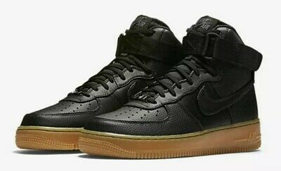 best authentic 7c75d 92a9d Wmns Air Force 1 Hi Se Black-Black-Dark Grey Sz 7.5  860544
