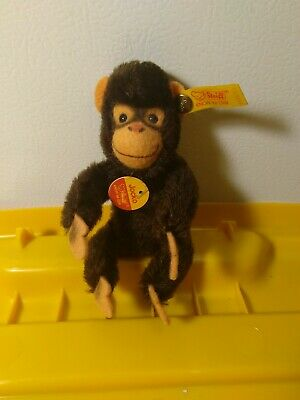 "Steiff ""Jacko"" the monkey stuff toy"