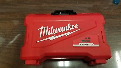 Milwaukee  Shockwave Impact Drill and Driver Set ! -Empty Box Only- ! CASE