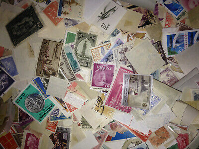 FREE SHIPPING! - 1000+ All Different FOREIGN Stamp Mixture From My Collection