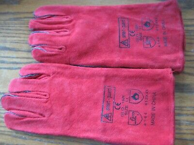 Smart Guard welding gauntlets GLO - 15R  Size 11, 10 pairs.