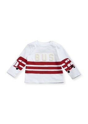 NEW Burberry Kids Herbie The Bus Long Sleeve Shirt Size 12 Months