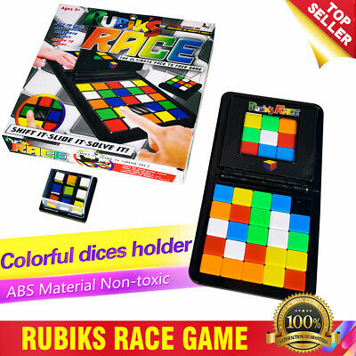 The Ultimate Race Rubiks Board Game Face to Face Strategy Puzzle Toy Gifts