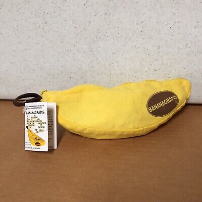 Bananagrams The Fun Word Tile Travel Game Complete Set With Tags Letters AR58