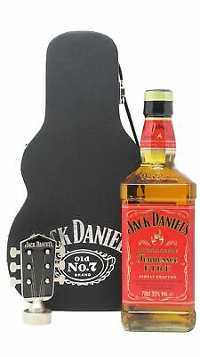 Jack Daniels - Tennessee Fire Guitar Case (Hard To Find Whisky Edition)  Whisky
