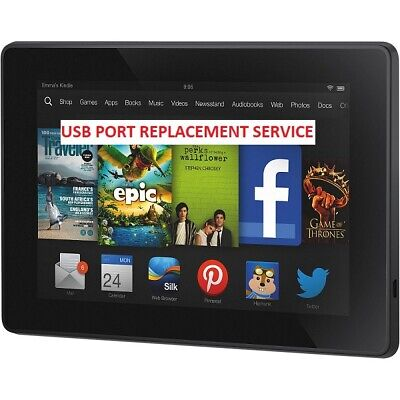 Amazon Kindle Fire HD 7 X43Z60 USB Charging Port Replacement Repair Service