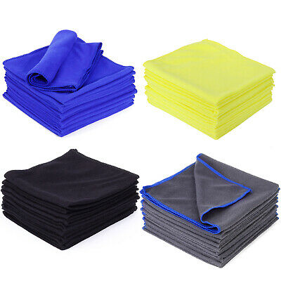 10 - 60 Towel Home Cleaning Cloths Polishing, Waxing, Drying, Detailing Towels