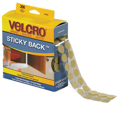 "VELCRO® Brand Velcro Tape Combo Packs Dots 3/4"" Beige 1/Case VEL105"