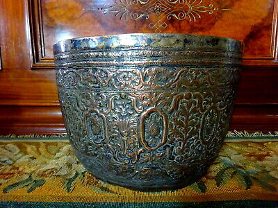 An Elkington Victorian Electrotype of an antique V&A South East Asian Vessel Pot