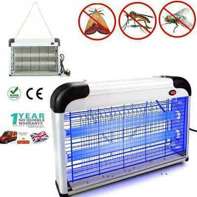 Electric Insect Killer Mosquito Zapper UV Light Lamp Fly Pest Bug Trap Catcher
