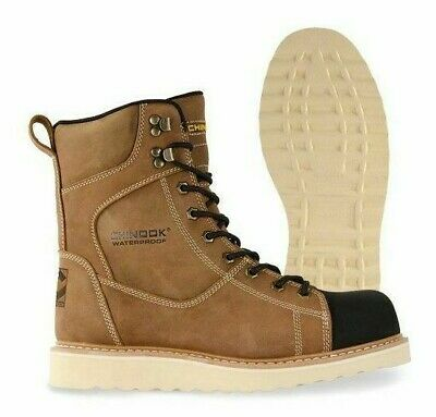 fbdddb170c0 NEW DICKIES OUTPOST Leather Steel Toe Work Boots - Brown - Iron ...