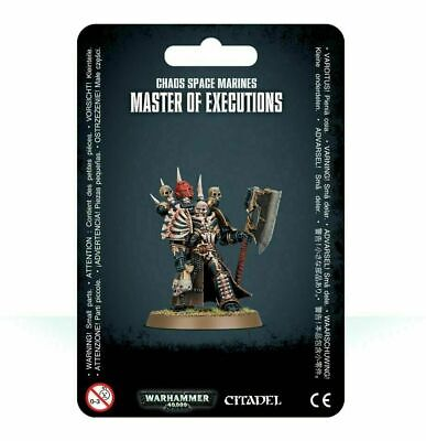 Master of Executions Chaos Space Marines Black Legion Warhammer 40K NIB