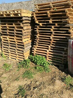 Used Wooden Pallets .  Various Sizes .  FREE .
