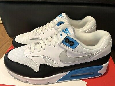 wholesale dealer da6ad 37905 Nike Air Max 90 1 Mens Sz 7 Shoes Sneaker Laser Blue White AJ7695-