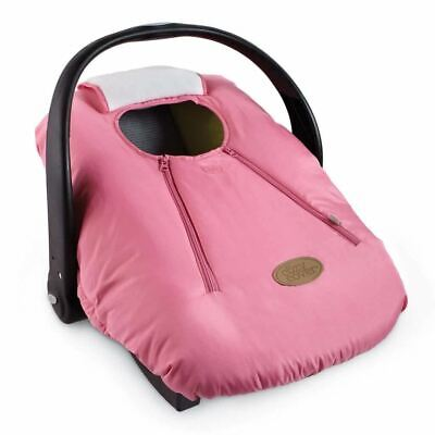 Cozy Cover Infant Carrier Baby Car Seat Cover PINK Soft Winter Protection Kids W