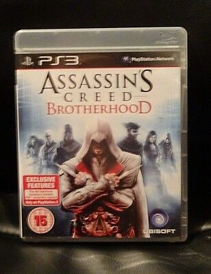 Assassins Creed BrotherHood EXCELLENT CONDITION PS3 Game Playstation 3 Game