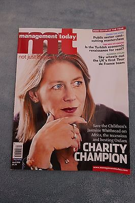 Management Today Magazine: April 2010, Jasmine Whitbread at Save The Children