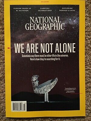 National Geographic We Are Not Alone March 2019 Magazine