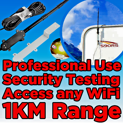 USB WIFI HACK Hacking Adapter Wireless Monitor Injection For Kali