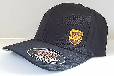 b7103ab2 UPS UNITED PARCEL Service Flexfit Work Hat -CUSTOMIZED BY YOU ...