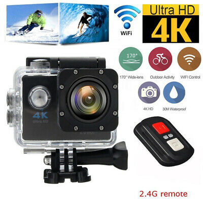 SJ9000 Ultra 4K Full HD 1080P Waterproof WiFi Sports Action Camera DV Helmet Cam