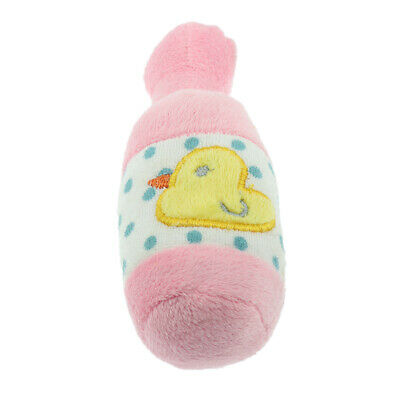Funny Cute Puppy Chewing Toy Squeaker Squeaky Plush Fleece Play Sound Toys