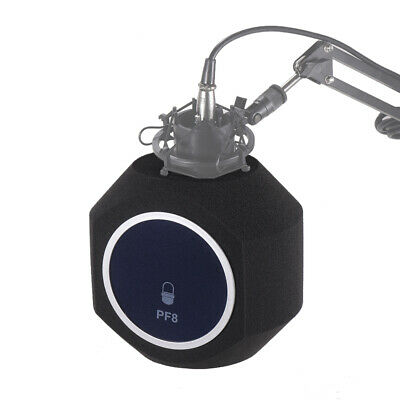 Alctron PF8 Studio Microphone Windscreen Acoustic Filter Noise Reduction W9Q9
