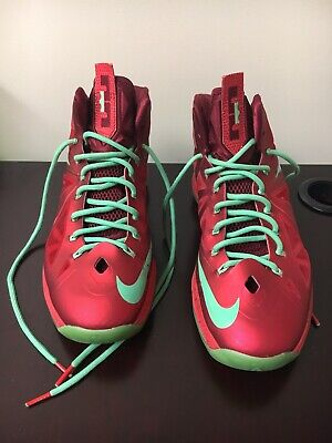 release date: a89db 3ccea Nike Lebron 10 X Christmas Size 11