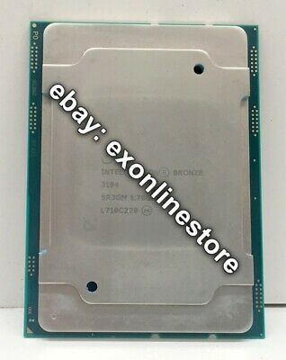 SR3GM - Intel Xeon Bronze 3104 Processor (8.25M Cache, 1.70 GHz)