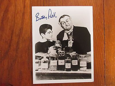 BUTCH PATRICK(The Munsters/Eddie Munster/Al Lewis)Signed B & W Glossy 8X10 PHOTO