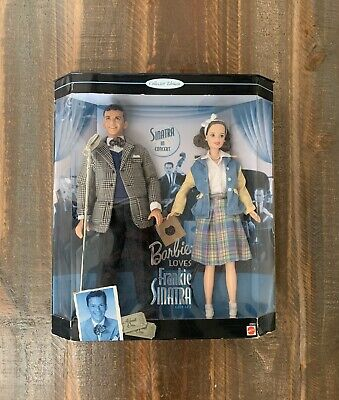 BARBIE LOVES FRANK SINATRA, 1999 Mattel Collector Doll Limited Edition NIB