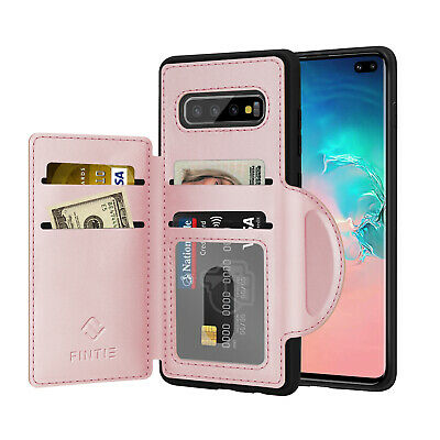 """For Samsung Galaxy S10 Plus 6.4"""" Full Body Shockproof Leather Wallet Case Cover"""