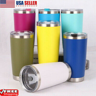 12/20oZ Stainless Steel Tumbler Vacuum Double Insulation Travel Mug Cup Coffee