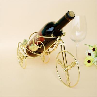 Wine Rack Champagne Bottle Hanging Holder Tricycle Shaped Dining Table Bar Decor
