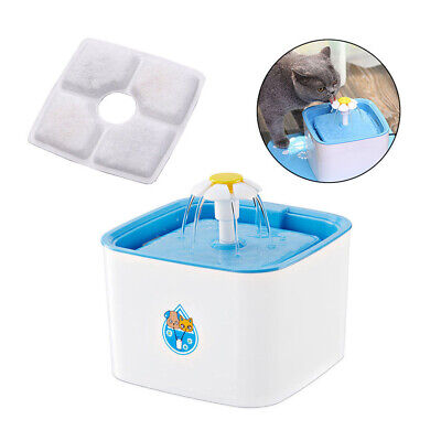 Pet Automatic Water Fountain Drinking Feeder Filter Core Activated Carbon