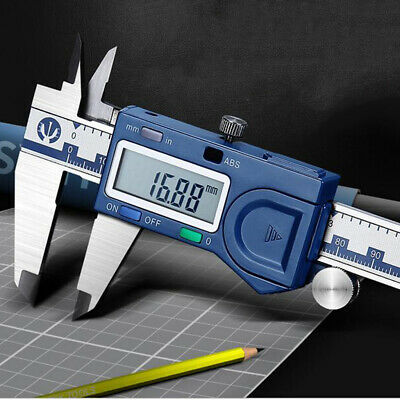 "0-6"" Digital Electronic Caliper Dial Caliper w/ Scratch Resistant LCD Screen"