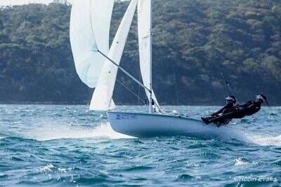 470 Sailing boat in racing condition