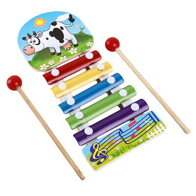 Educational Toys Cartoon Funny Xylophone Musical Baby Toys for Toddlers RD