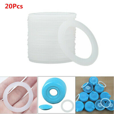 20Pcs Silicone Sealing O-Rings Gasket for Bottled Water Bucket Pail Lid Cover HQ