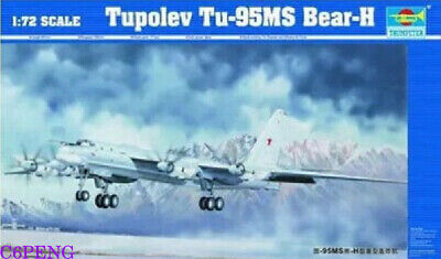 Trumpeter 01601 1/72 Tupolev Tu-95MS Bear-H HOT