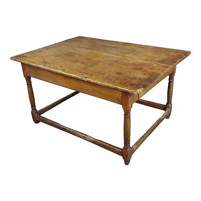 19th century English walnut Farm Side table
