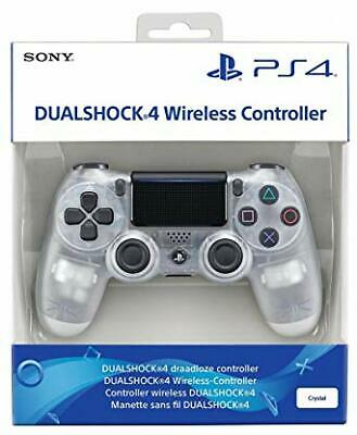 New Official Sony Dualshock4 PS4 Wireless Controller V2 With Bluetooth - Crystal