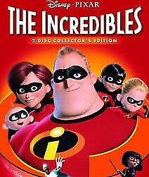The Incredibles DVD (2005) (region 1 us import) USED, IN GOOD CONDITION.