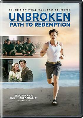 Unbroken - Path to Redemption [DVD] (region 1 us import) USED, IN GOOD CONDITION