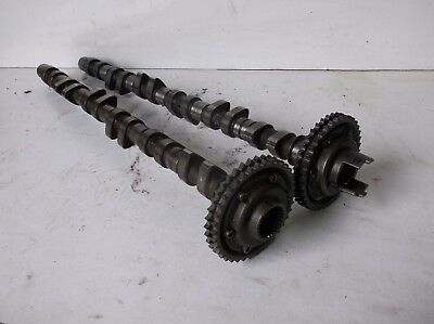 BMW E36 M3 3.2 Evo S50B32 cams cam shafts pair with sprockets - Mint condition 2