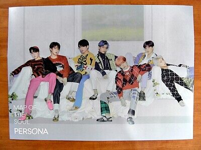 BTS - MAP OF THE SOUL : PERSONA (Ver. 4) [OFFICIAL] POSTER *NEW* K-POP