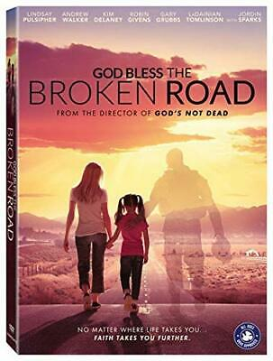 GOD BLESS THE BROKEN ROAD DVD (region 1 us import) USED, IN GOOD CONDITION