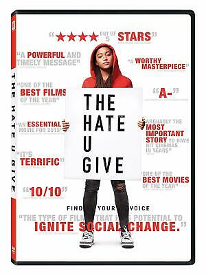 The Hate U Give [2018] DVD (region 1 us import) USED, IN GOOD CONDITION.