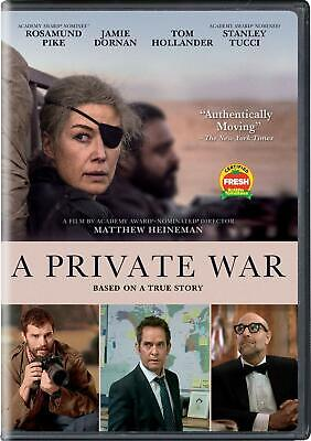 A PRIVATE WAR DVD (region 1 us import) USED, IN GOOD CONDITION